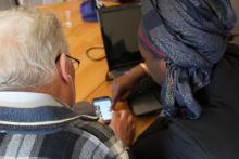 Atelier numérique jeunes-seniors, Habitat de la Vienne